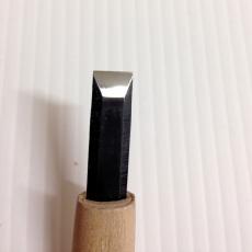 コンパウンド革砥で仕上げ磨き
